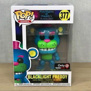 Funko Pop Five Nights At Freddys Blacklight Freddy